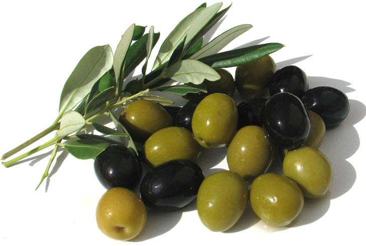 Свежие маслины